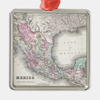 Vintage Map of Mexico (1855) Christmas Ornament