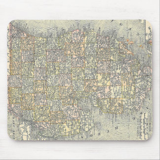 Vintage Map of Michigan (1901) Mouse Pad