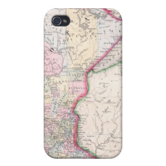 Vintage Map of Minnesota (1864) Case For The iPhone 4