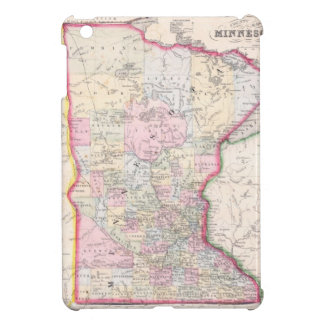 Vintage Map of Minnesota (1864) iPad Mini Cover