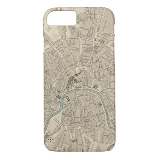 Vintage Map of Moscow (1836) iPhone 7 Case