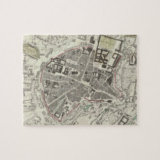 Vintage Map of Munich Germany (1832) Jigsaw Puzzle