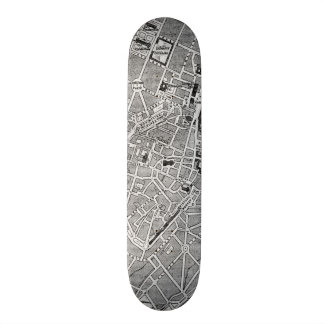 Vintage Map of Munich Germany 1884 Skateboard Deck