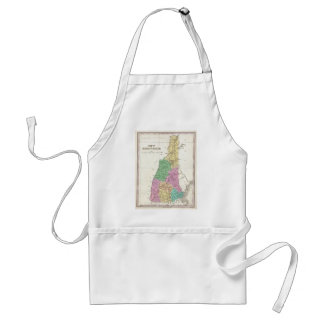 Vintage Map of New Hampshire (1827) Aprons