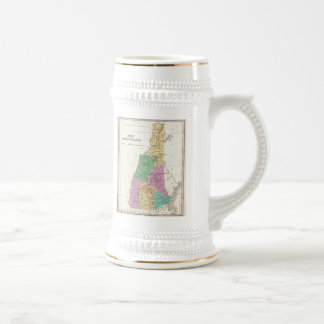 Vintage Map of New Hampshire (1827) Beer Steins