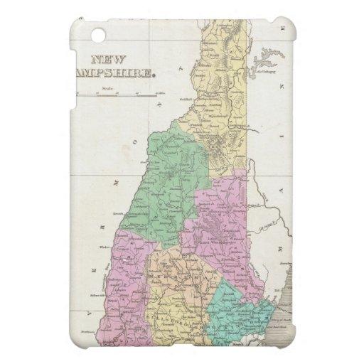 Vintage Map of New Hampshire (1827) iPad Mini Case