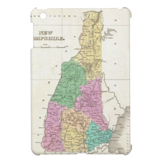 Vintage Map of New Hampshire (1827) iPad Mini Cases
