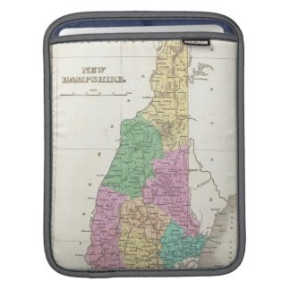Vintage Map of New Hampshire (1827) Sleeve For iPads