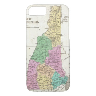 Vintage Map of New Hampshire (1827) iPhone 7 Case