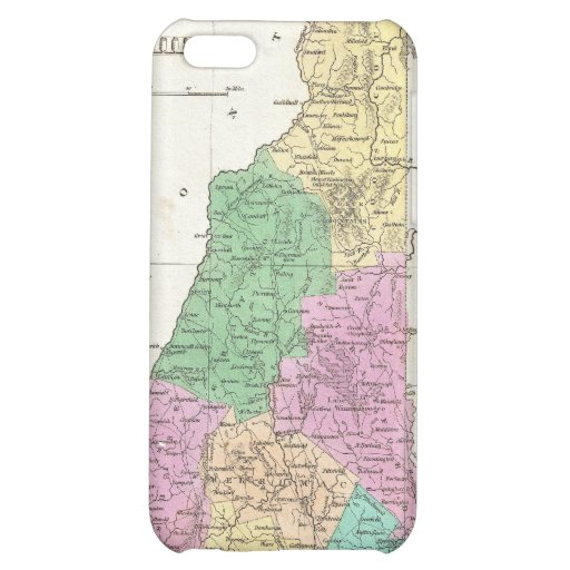 Vintage Map of New Hampshire (1827) Cover For iPhone 5C