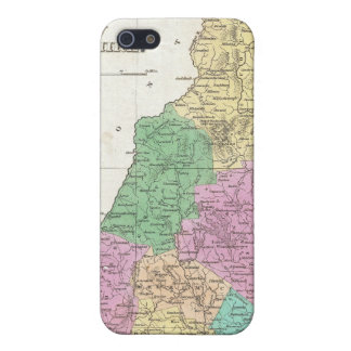 Vintage Map of New Hampshire 1827 Cover For iPhone 5