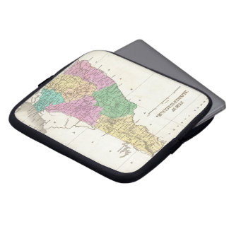Vintage Map of New Hampshire (1827) Laptop Sleeve