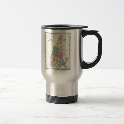 Vintage Map of New Hampshire (1827) Mug