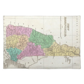 Vintage Map of New Hampshire (1827) Placemat