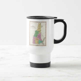Vintage Map of New Hampshire (1827) Stainless Steel Travel Mug