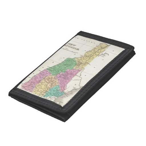 Vintage Map of New Hampshire (1827) Trifold Wallet