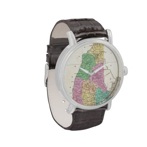 Vintage Map of New Hampshire (1827) Watches