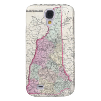 Vintage Map of New Hampshire 1855 Samsung Galaxy S4 Cover