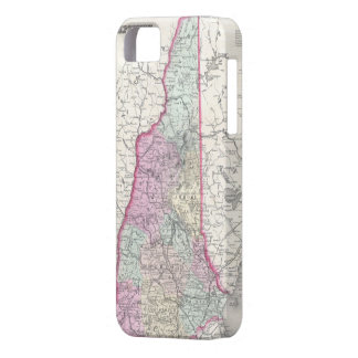 Vintage Map of New Hampshire (1855) Case For The iPhone 5