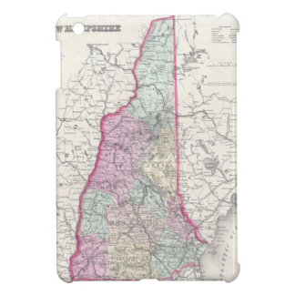 Vintage Map of New Hampshire (1855) iPad Mini Cases