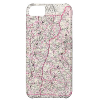 Vintage Map of New Hampshire and Vermont (1861) iPhone 5C Case
