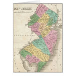 Vintage Map of New Jersey (1827) Cards