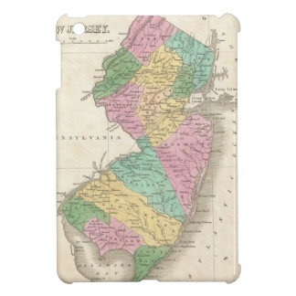 Vintage Map of New Jersey (1827) iPad Mini Case