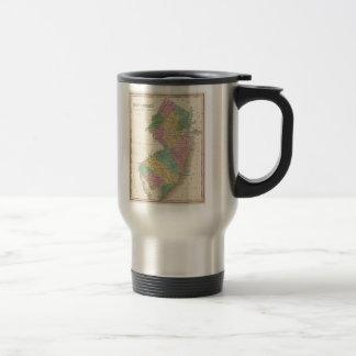 Vintage Map of New Jersey (1827) Stainless Steel Travel Mug
