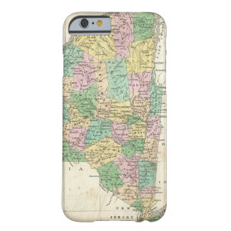 Vintage Map of New York (1827) Barely There iPhone 6 Case