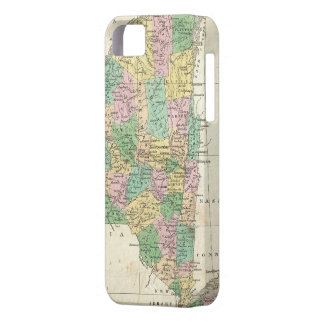 Vintage Map of New York (1827) iPhone 5 Cover