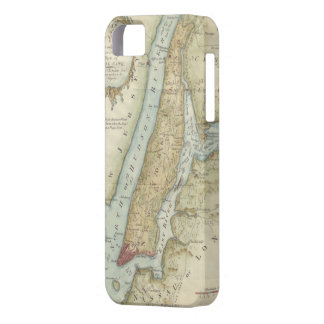 Vintage Map of New York City (1869) iPhone 5 Covers
