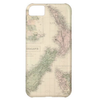 Vintage Map of New Zealand (1854) iPhone 5C Case