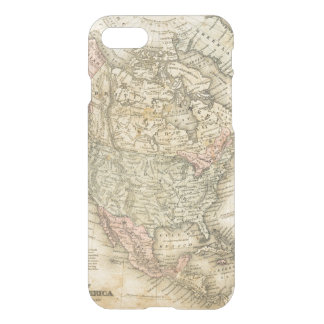 Vintage Map of North America iPhone 8/7 Case