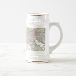 Vintage Map of Northern Italy (1720) Coffee Mugs