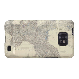 Vintage Map of Northern Italy (1861) Samsung Galaxy S2 Case