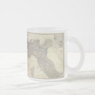 Vintage Map of Northern Italy (1861) Coffee Mug