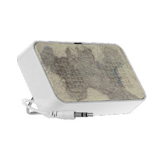 Vintage Map of Northern Italy 1861 iPhone Speaker