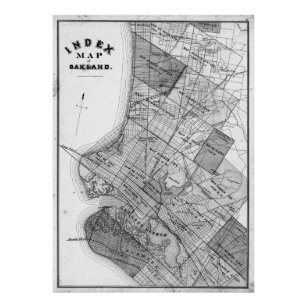 Vintage oakland posters prints zazzle uk vintage map of oakland california 1878 bw poster publicscrutiny Image collections