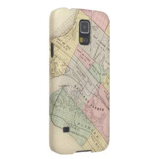 Vintage Map of Oakland California 1878 Samsung Galaxy Nexus Covers