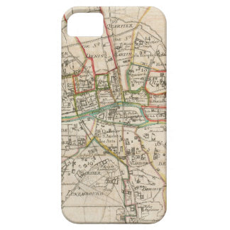 Vintage Map of Paris (1678) iPhone 5 Cover