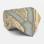 Vintage Map of Pittsburgh PA (1891) Tie