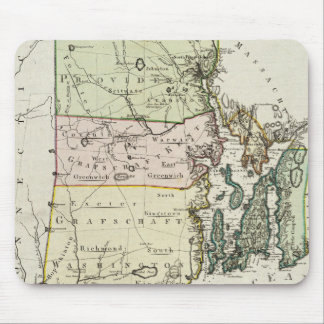 Vintage Map of Rhode Island (1797) Mouse Pad