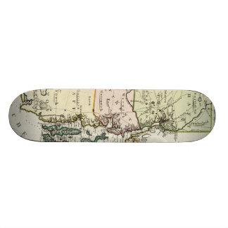 Vintage Map of Rhode Island (1797) Skate Boards