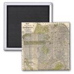 Vintage Map of San Francisco (1932) Fridge Magnet