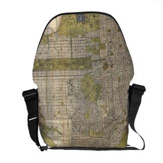 Vintage Map of San Francisco (1932) Messenger Bag