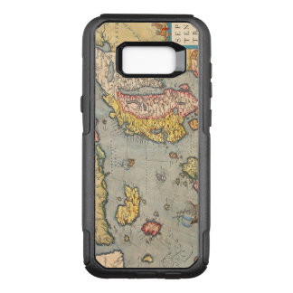 Vintage Map of Scandinavia OtterBox Commuter Samsung Galaxy S8+ Case
