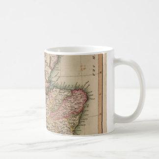 Vintage Map of Scotland (1814) Basic White Mug