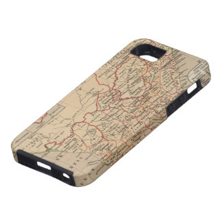 Vintage Map of South Africa (1880) iPhone 5 Case