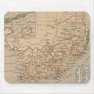 Vintage Map of South Africa (1880) Mouse Pad
