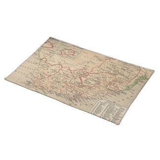 Vintage Map of South Africa (1880) Placemat